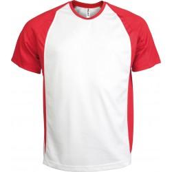 Dwukolorowy termoaktywny T-shirt M