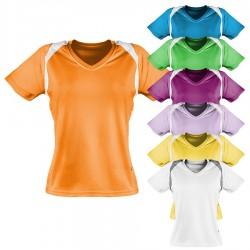 Oddychający damski T-shirt do biegania