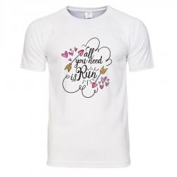 Koszulka termoaktywna - Kocham biegać