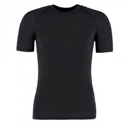 Dopasowana koszulka z krótkim rękawem