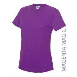 Koszulka termoaktywna damska Neoteric Cool magenta magic S