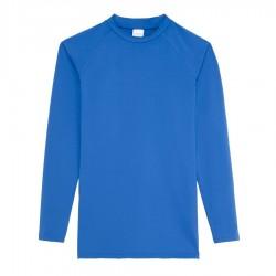 Dopasowana koszulka termoaktywna z długim rękawem royal blue XL