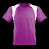 Oddychający męski T-shirt do biegania purpurowa L