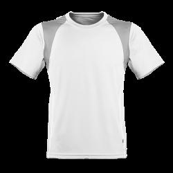 Oddychający męski T-shirt do biegania biała M