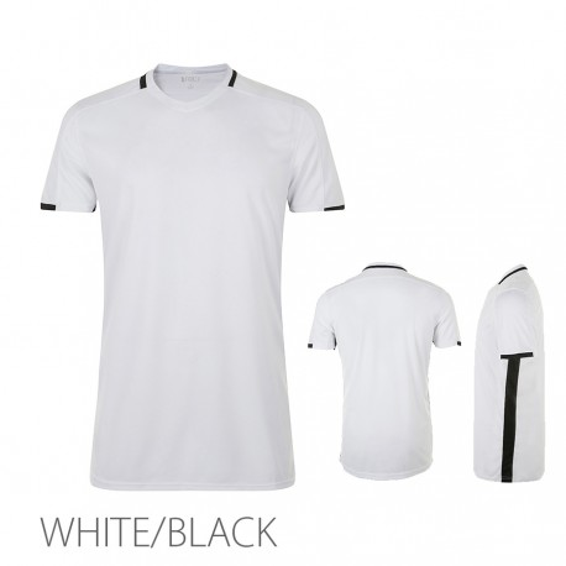 Męska koszulka termoaktywna Classico biało czarna XXL