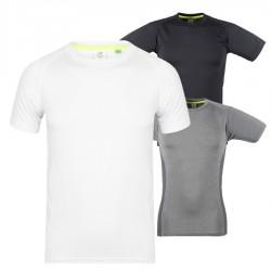 Dopasowana męska koszulka z krótkim rękawem