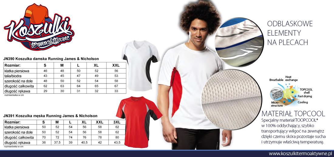 jn390 koszulka termoaktywna